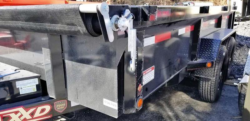 2018 MAXXD 7X14 DKX LO-PRO Dump Trailer 10K W/SOLAR PANEL