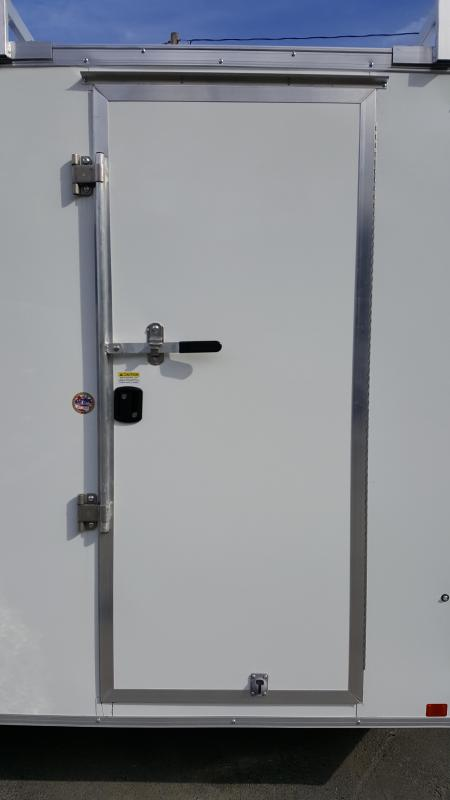 2019 Cargo Express 7 X 14 XLW SE Ramp Door 4 Ladder Racks!!