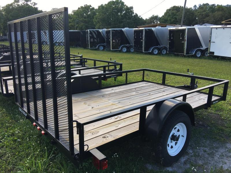 2018 Triple Crown 6x10 Single Axle Open Utility Trailer