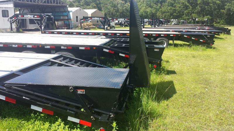 8.5x40 Load Trail Trailers Low-Pro Gooseneck Trailer  [22000# GVWR]