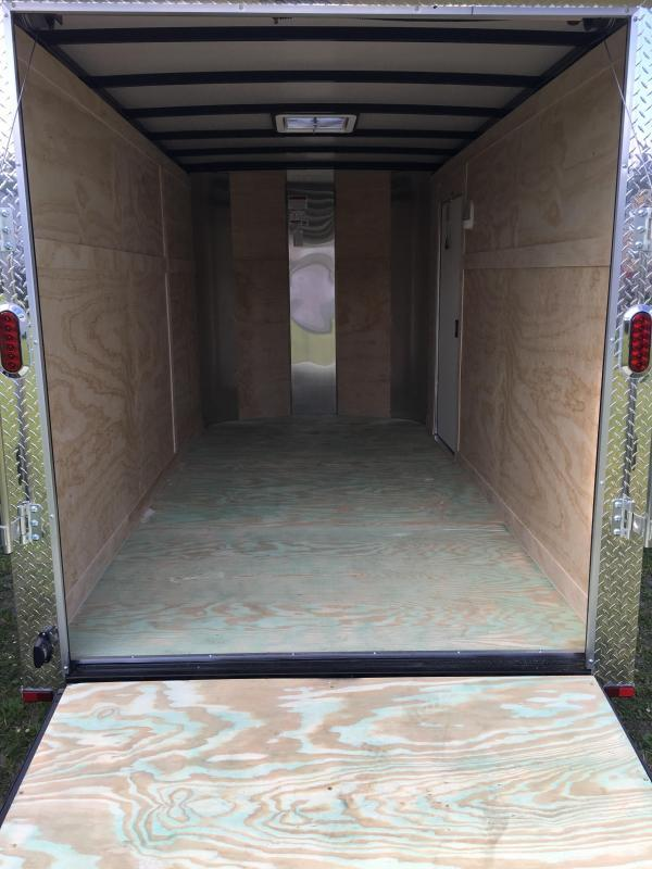 2018 Arising 6x12 Tandem Axle Enclosed Cargo Trailer
