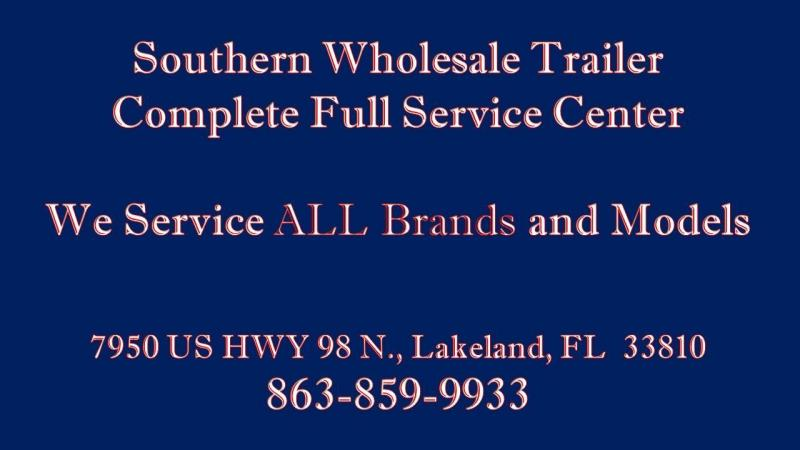 7x20 Triple Crown Trailers Landscaping Trailer