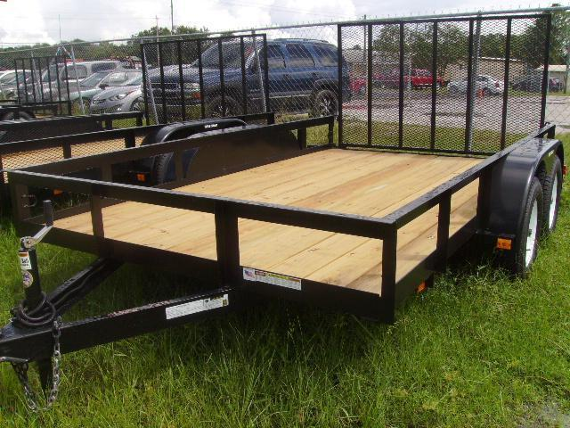 7x12 Triple Crown Trailers HD Utility Trailer