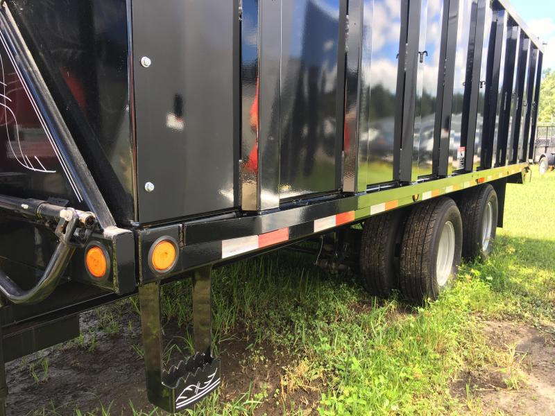 2018 Load Trail 8.5x18 Gooseneck Dump Trailer