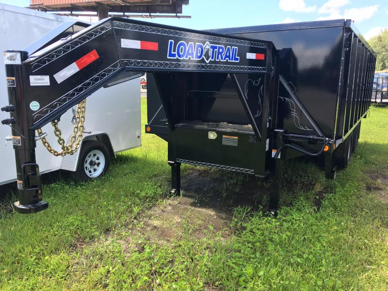 2018 Load Trail 8.5x18 Gooseneck Dump Trailer