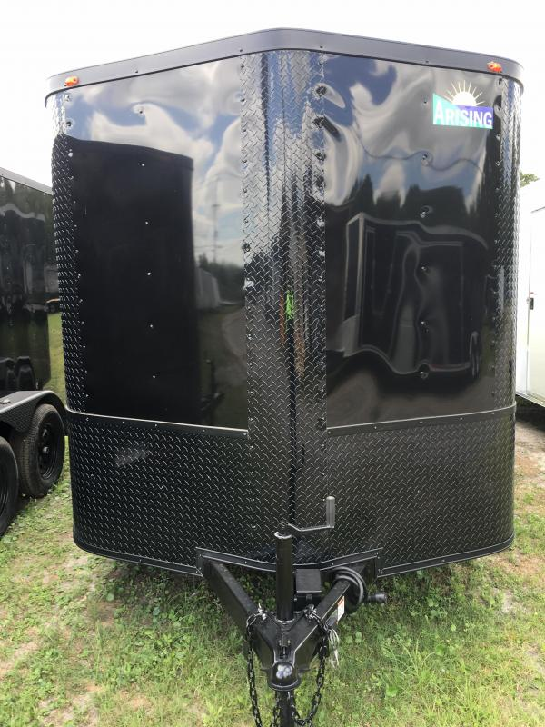 2018 Arising 7x16 Tandem Axle Enclosed Cargo Trailer