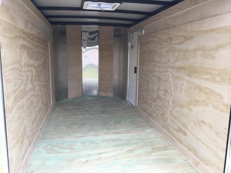 2018 Arising 5x10 Single Axle Enclosed Cargo Trailer