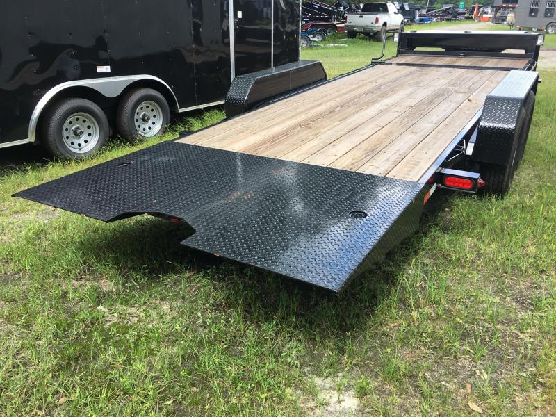 2018 Gatormade Trailers 7x20 Tilted Equipment Trailer