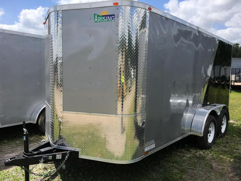 2018 Arising 7x14 Tandem Axle Enclosed Cargo Trailer