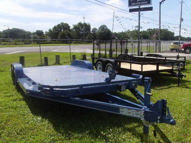 7x20 Load Trail Trailers Steel Deck Trailer