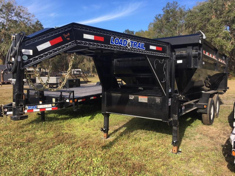 2018 Load Trail 7x14 GN Drop N GO Roll Off Dump Trailer