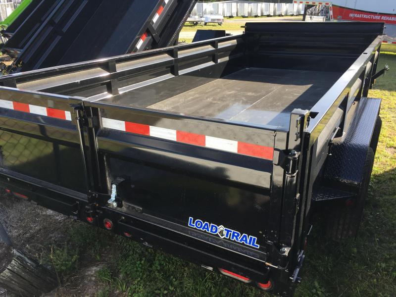 2018 Load Trail 7x16 Heavy Duty Dump Trailer