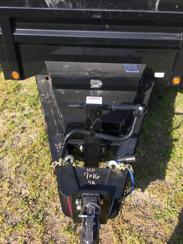 2018 Load Trail 7x16 Heavy Duty Dump Trailer