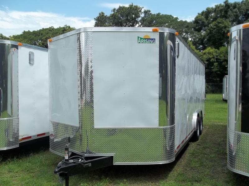 2018 Arising 8.5x20 Tandem Axle Enclosed Cargo Trailer