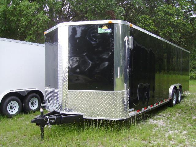 8.5x24 Arising Trailers Enclosed Cargo Car Hauler Trailer