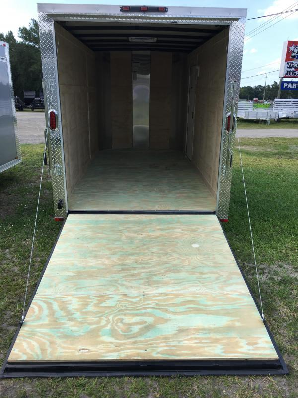 2018 Arising 6x12 Single Axle Enclosed Cargo Trailer