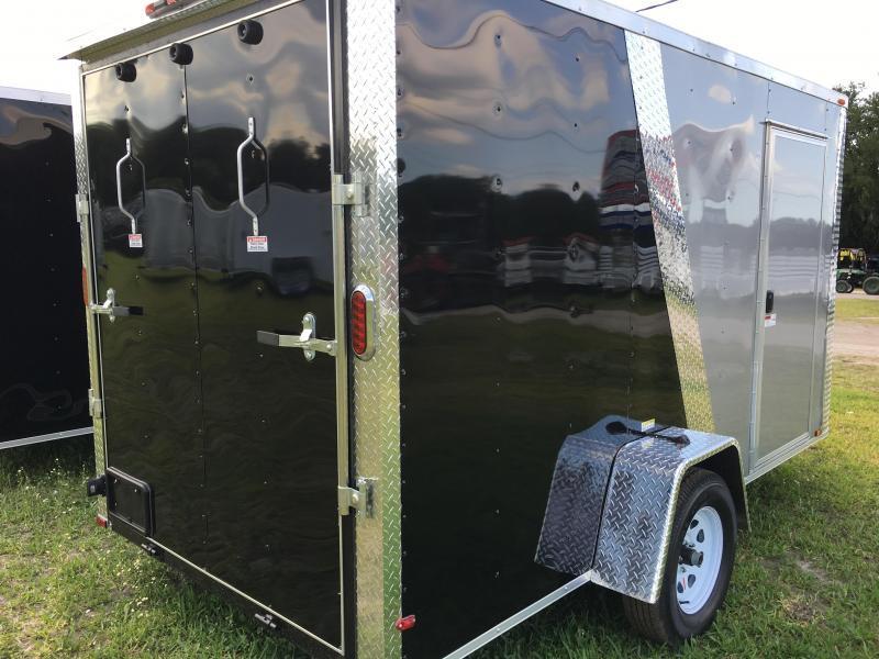 2018 Arising 6x12 Single Axle Enclosed Cargo Trailer
