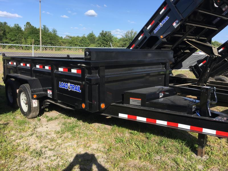 2018 Load Trail 7x14 Heavy Duty Dump Trailer
