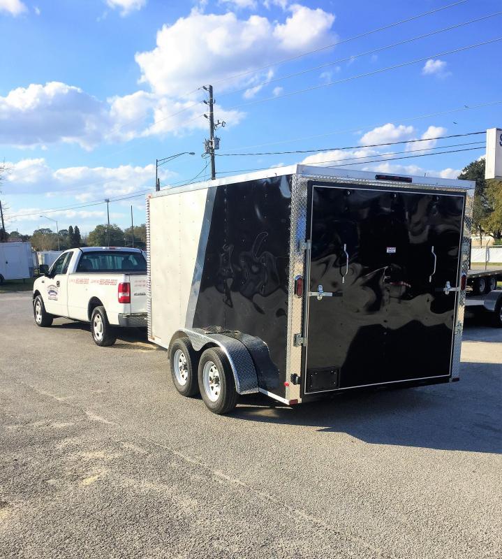 2017 Arising 7x12 Enclosed Cargo Trailer