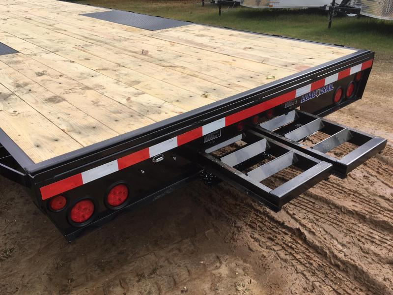 2018 Load Trail 102x24 Straight Deck Equipment Trailer