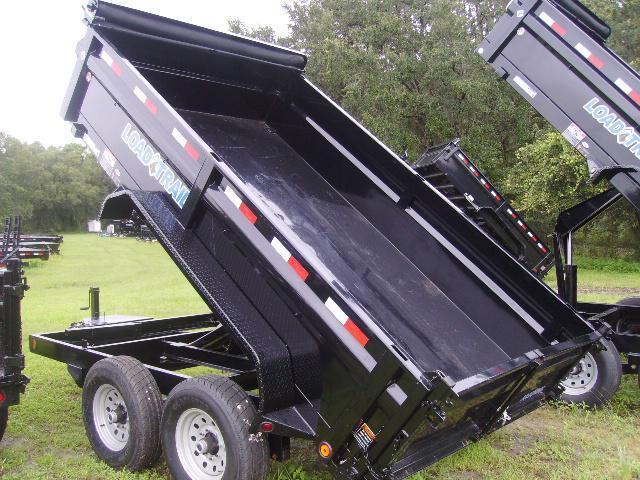 7x12 Load Trail Trailers Tandem Axle Dump Trailers TARP KIT INCLUDED