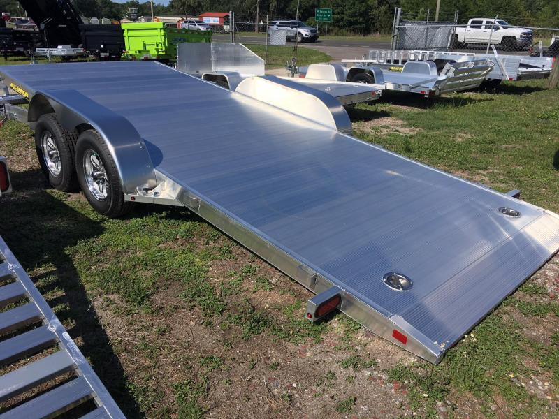 2019 Aluma 82x18 Tilt Car / Racing Trailer