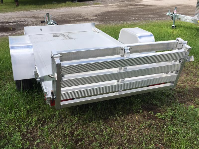 2018 Aluma 54x8 Bi-Fold Tailgate Utility Trailer