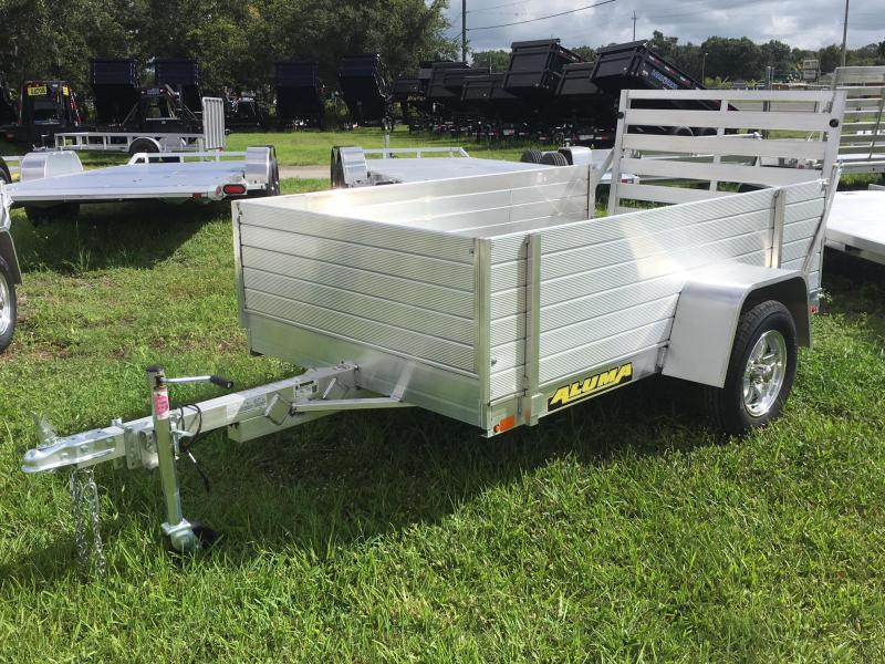 2018 Aluma 54x8 with 2ft Sides Utility Trailer