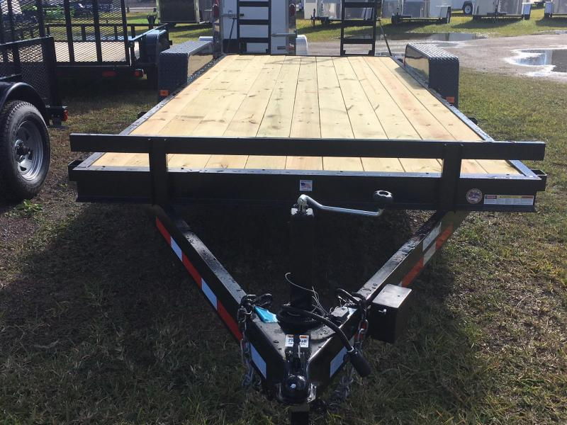 2018 Triple Crown Trailers 7x20  14K Equipment Trailer