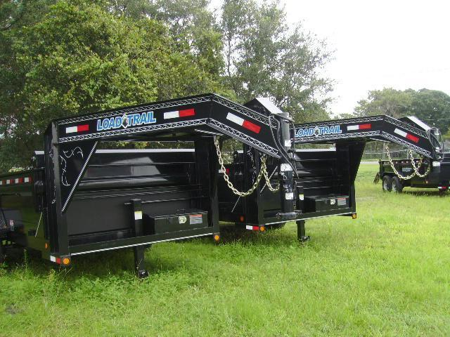 2018 7x14 Load Trail Gooseneck  Dump Trailer
