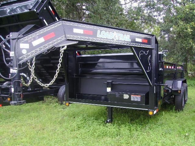 2018 7x14 Load Trail Gooseneck  Dump Trailer