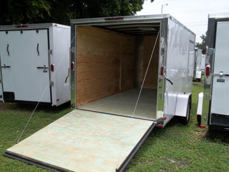 2018 Arising 7x12 Single Axle Enclosed Cargo Trailer