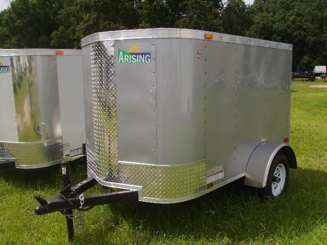 2018 Arising 4x6 Single Axle Enclosed Cargo Trailer