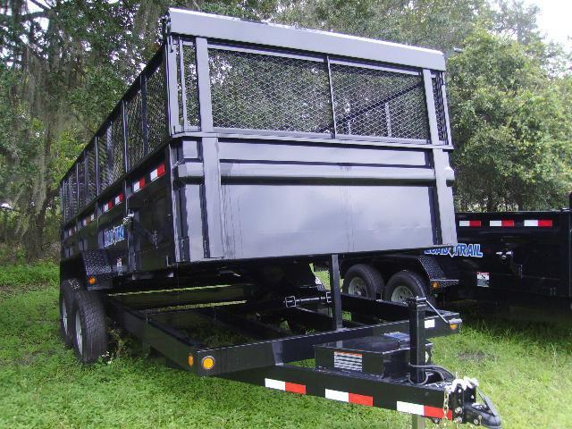 7x16 load trail trailers dump trailer wsolar charger and tarp kit cheapraybanclubmaster Choice Image