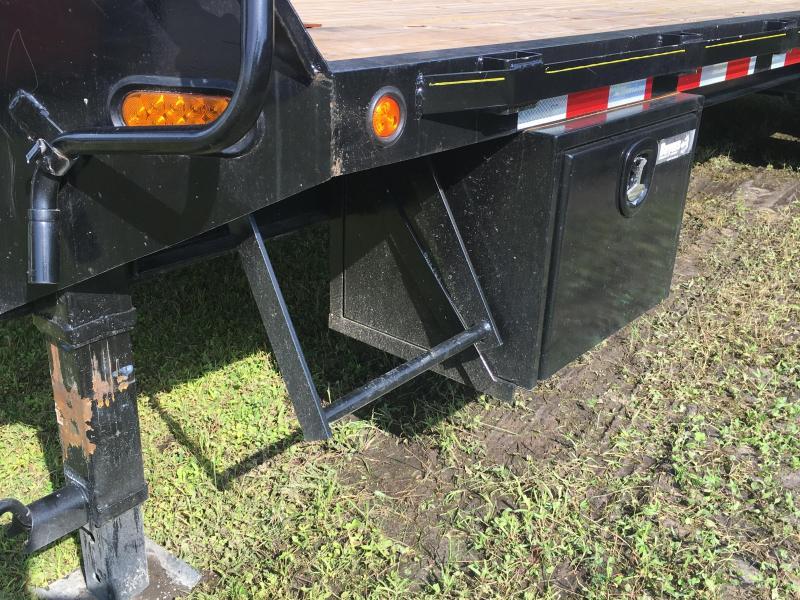 2018 Irondog 8.5x25 Gooseneck Equipment Trailer