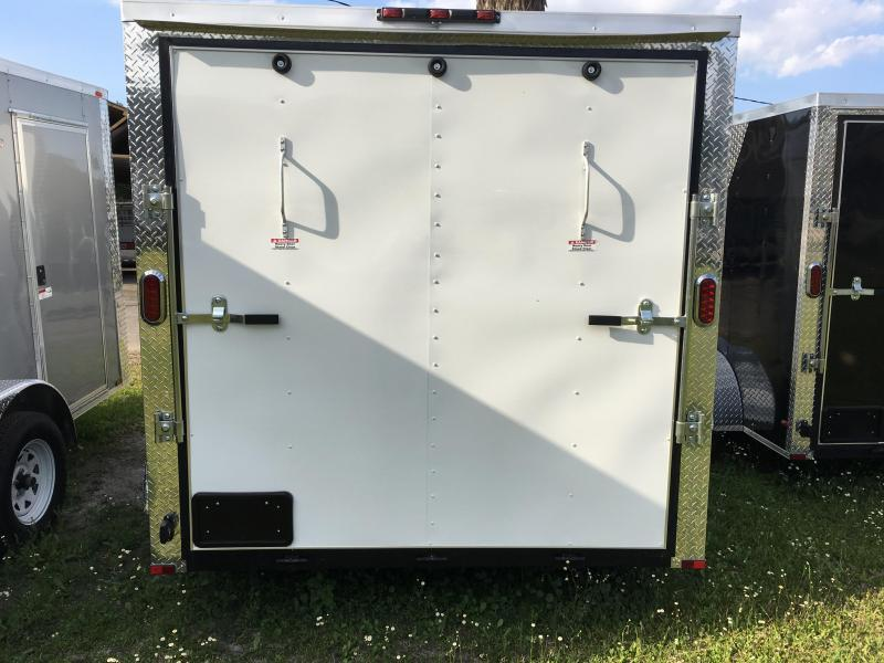 2018 Arising 7x12 Tandem Axle Enclosed Cargo Trailer