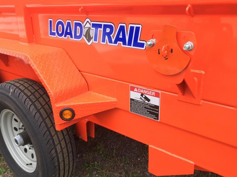 2018 Load Trail 7x12 Dump Trailer