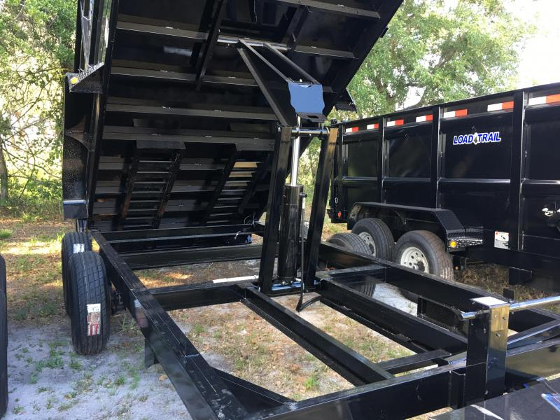 2018 Load Trail 7x16 Dump Trailer (4ft Sides)