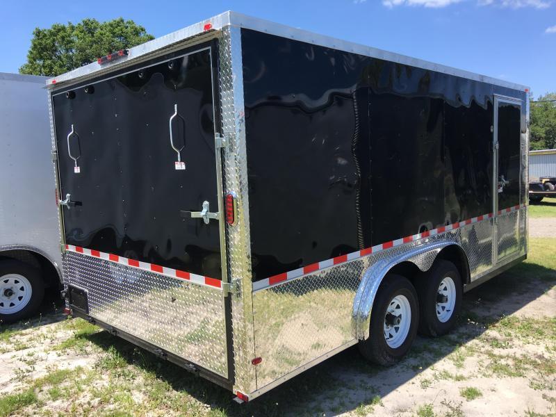 2018 Arising 8.5x16 Tandem Axle Enclosed Cargo Trailer