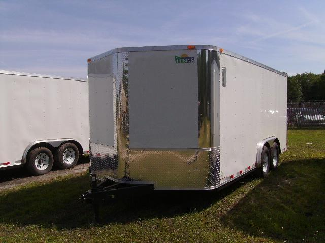 2018 Arising 8.5x16 Tandem Axle Enclosed Cargo Trailer