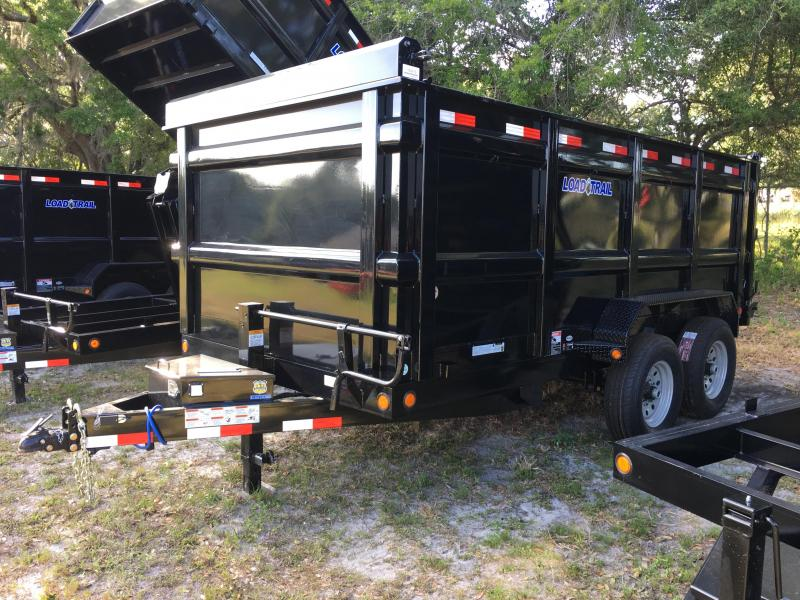 2018 Load Trail 7X14 Dump Trailer (4ft Sides)