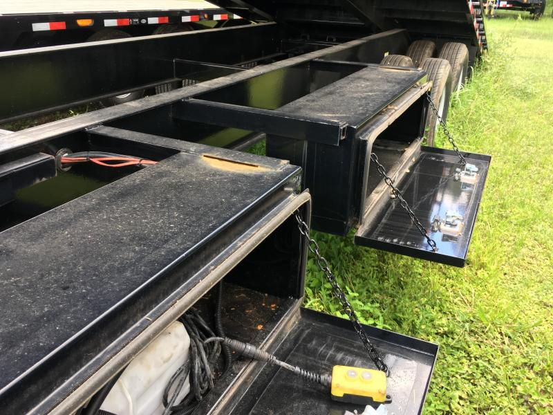 2017 Load Trail 8.5x30 Pintle Equipment Trailer