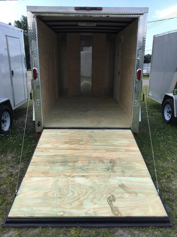 2018 Arising 6x10 Single Axle Enclosed Cargo Trailer
