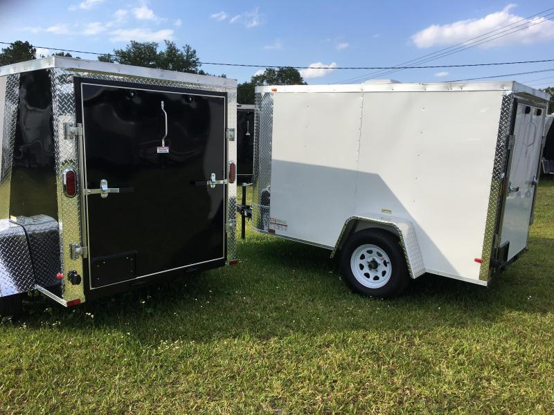 2018 Arising 5x8 Single Axle Enclosed Cargo Trailer