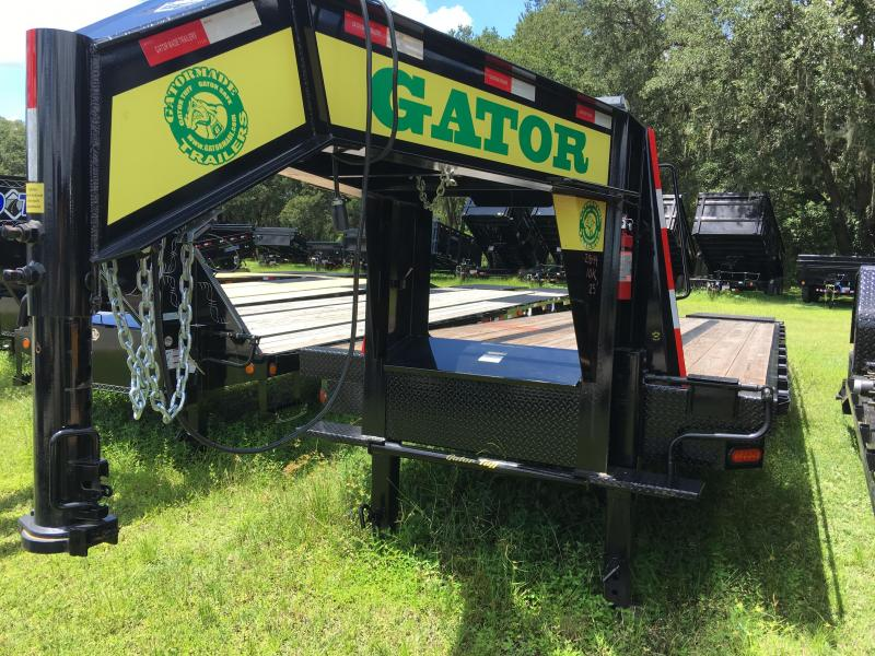 2018 Gatormade Trailers 8.5x25 Gooseneck Equipment Trailer