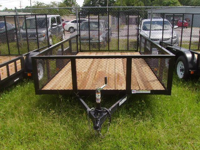 6x12 Triple Crown Utility Trailer 2' MESH Sides