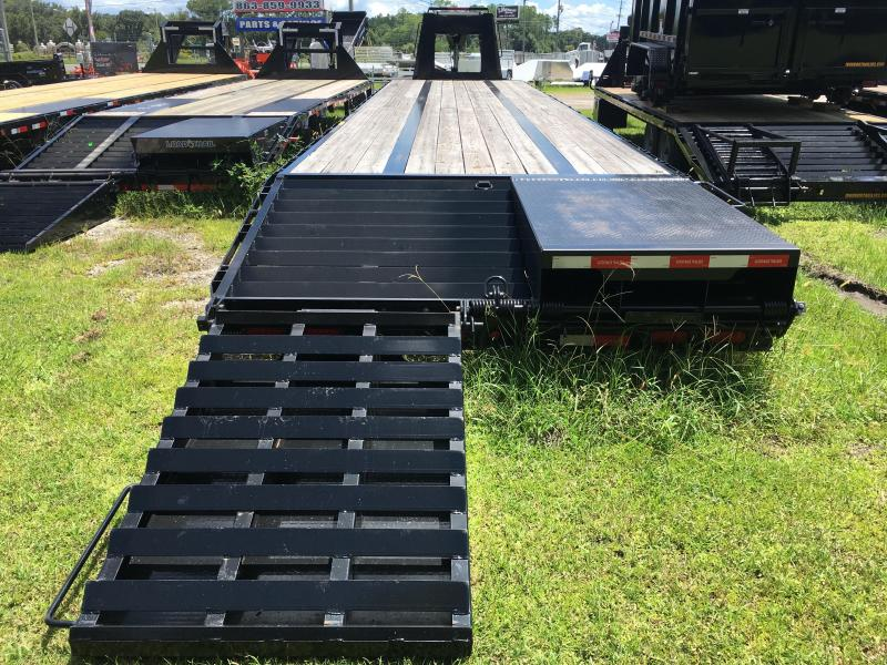 2017 Gatormade Trailers 8.5x40 Gooseneck Equipment Trailer