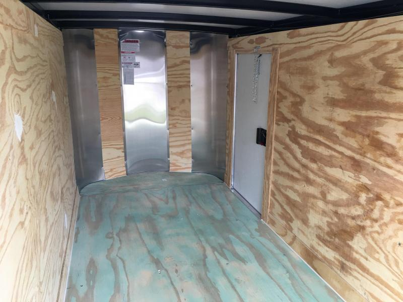 2018 Arising 4x8 Single Axle Enclosed Cargo Trailer