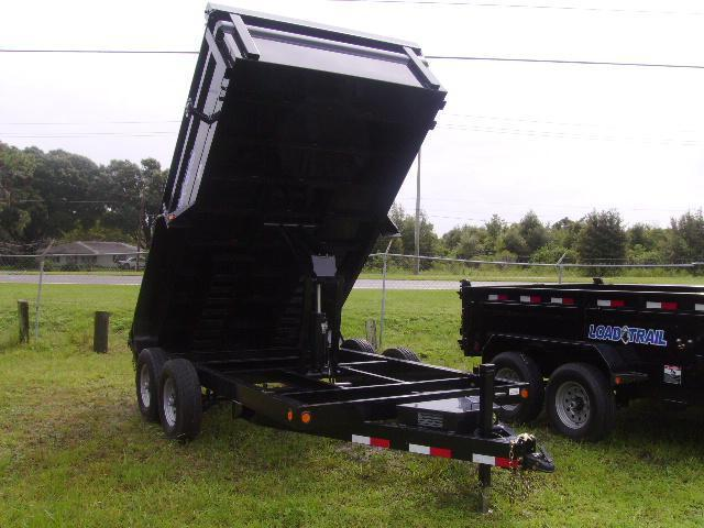 7x14 Load Trail Trailers Tandem Axle Dump Trailer