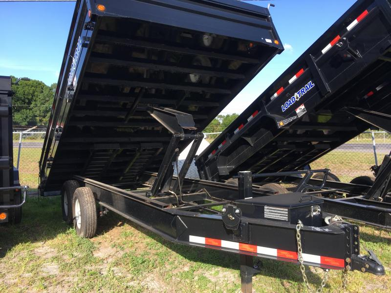 2018 Load Trail 8x16 Fold Down Sides Dump Trailer